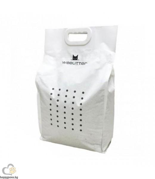 WeeLitter Charcoal - екологична котешка тоалетна от соя с различни аромати 18 литра