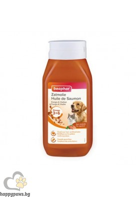 Beaphar Salmon Oil масло от сьомга за здрава и лъскава козина, 430 мл
