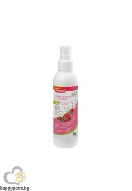 Beaphar BIO Dry Shampoo - сух шампоан с био мак, нар, алое вера, 200 мл