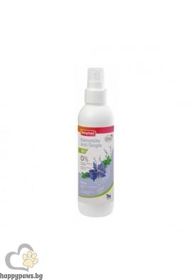 Beaphar BIO Anty-Tangle Spray - спрей против заплитане на козината за кучета и котки с био масло от пореч, мента, алое вера, 200 мл