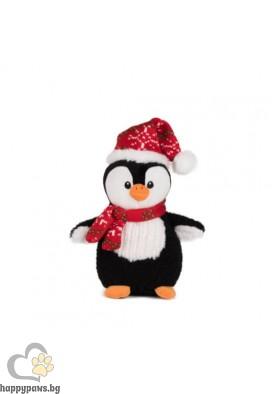 Коледна играчка пингвин, 20 см