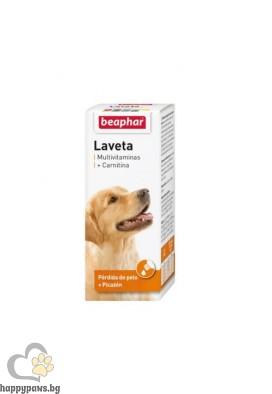 Beaphar Laveta витаминни капки за кучета, 50мл