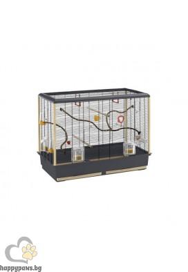 Ferplast Клетка за канарчета и малки екзотични птици PIANO 6 - 87 x 46,5 x h 70 cm
