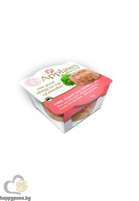 Applaws - Cat layers in jelly деликатесно лакомство в купичка за котета над 12 месеца, 70 гр. различни вкусове в желе