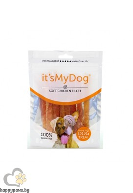 It's My Dog Chicken - Soft Fillet Grain Free - лакомство за куче пилешко филе, 85 гр.