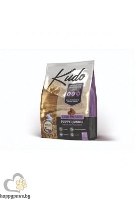 Kudo Puppy & Junior Medium-Maxi Храна за средни и едри породи кучета до 12 месеца, различни разфасовки