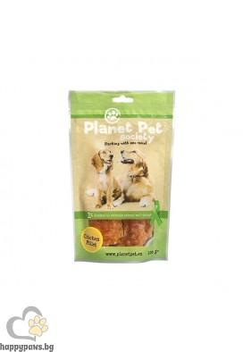Planet Pet Chicken Fillet - пилешки филенца от прясно месо, 100 гр.