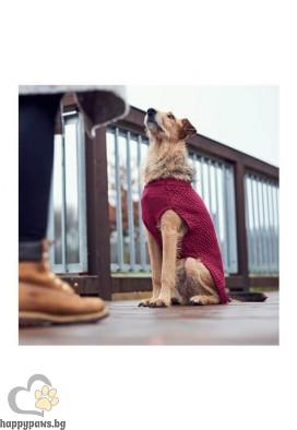 Hunter Пуловер за куче Malmö - бордо, различни размери