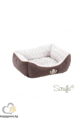 Scruffs - Легло WILTON BOX, кафяво, различни размери