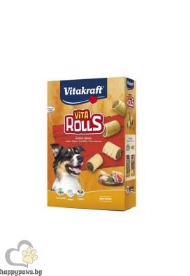 Vitakraft - VITA RollS бисквити с вкусен пълнеж, 400 гр