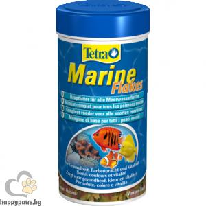 Tetra - Marine Flakes - храна на люспи за морски рибки, 250 мл.
