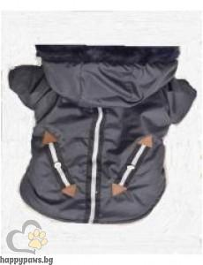 Яке с качулка с имитиращ джоб,различни цветове и размери.