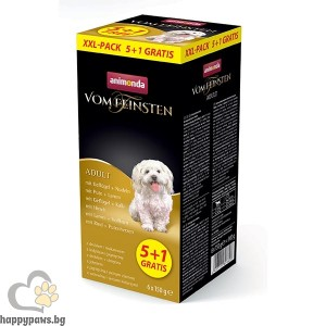Пастети за кучета Animonda Vom Feinsten XXL 5+1, кутия