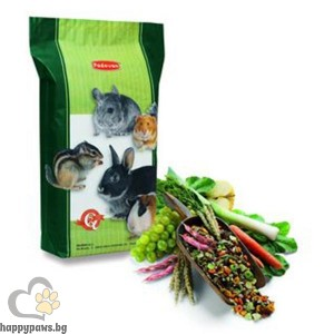Padovan, GRANDMIX coniglett - Пълноценна храна за гризачи, 18 кг.