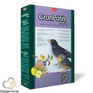 Padovan - Gran Patee Висококачествена храна за насекомоядни птици, 1 кг.