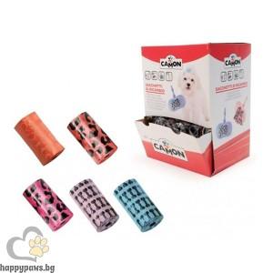 Camon - Хигиенни пликчета с декорация - 3 бр. в пакет - Червен