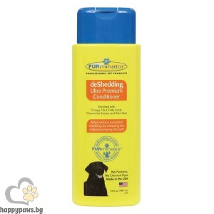FURminator - deShedding Conditioner - балсам против падане на козината - 250 мл.