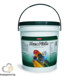 Padovan - BLANC PATEE Мека хранителна добавка за зърноядни птици, 5 кг.