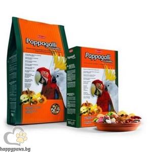 Padovan - GRAND MIX Пълноценна храна за големи папагали с плодове, 2 кг.