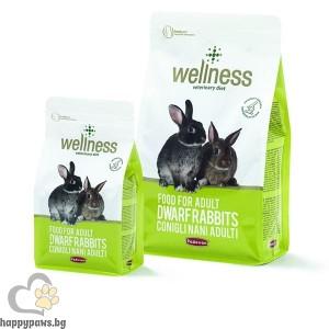 Padovan - Wellness Adult Премиум храна за мини зайци, 1 кг.