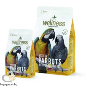 Padovan - Wellness Премиум храна за големи папагали, 750 гр.