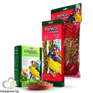 Padovan - Melody Mix Пълноценна храна за пойни птици, 300 гр.