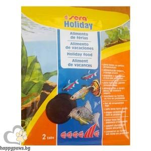 Sera - Holiday -храна, която е стабилна за дълго време във вода, 10 бр.