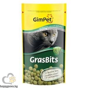 Gimpet - GrasBits Котешка трева на таблетки - 25 бр.