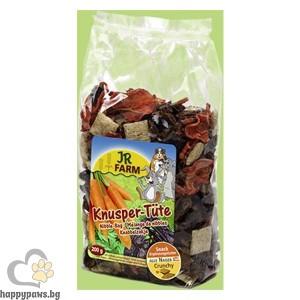 JR Farm, Хрупкав микс за гризачи, 150 гр.