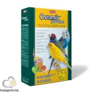 Padovan - Ovomix gold Giallo Хранителна добавка за малки птички, жълта, 300 гр.