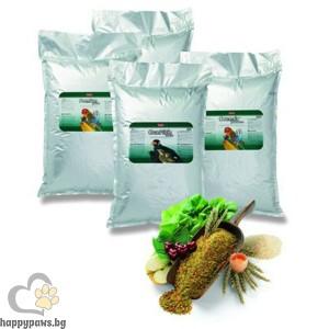 Padovan - Хранителна добавка за зърноядни птици, червена, 25 кг.