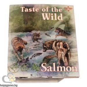 Терин за кучета сьомга и херинга - Tаste of the wild Solmon& Herrinhgdog tray 390 гр.