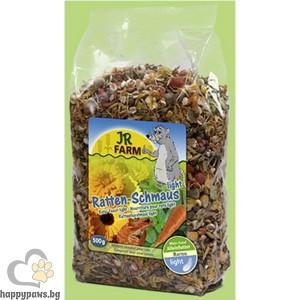 JR Farm - Диетична храна за плъхове, 500 гр.