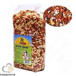 JR Farm - Пълноценна храна за таралежи, 500 гр.