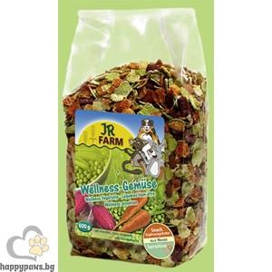 JR Farm - Хранителна добавка за гризачи, 600 гр.