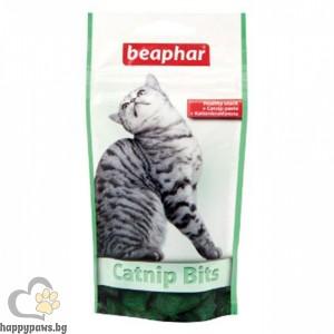 Beaphar - Catnip Bits джоб хапки с котешка трева, 150 мл.
