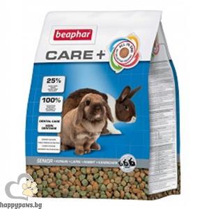 Beaphar - Care + Super premium Senior храна за възрастни зайци, 1.5 кг.