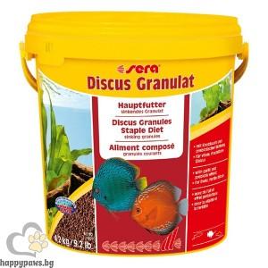 Sera - Discus - храна за всички дискуси и други цихлиди, 10 л.