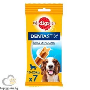 Pedigree Dentastix - Daily Oral Care, за кучета между 10 - 25 кг., 7 бр.