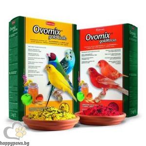 Padovan - Ovomix gold Giallo Хранителна добавка за малки птички, червена, 1 кг.