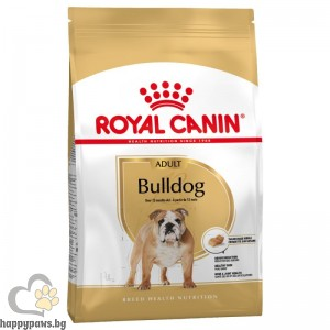 Royal Canin - Bulldog Adult суха храна за кучета от порода Булдог, над 12 месеца, 12 кг.