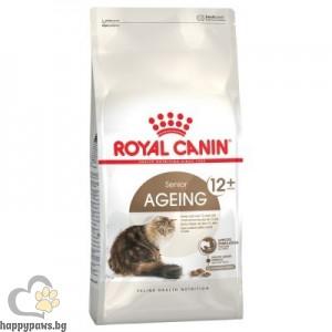 Royal Canin - Ageing +12 суха, пълноценна храна за котета на възраст над 12 години