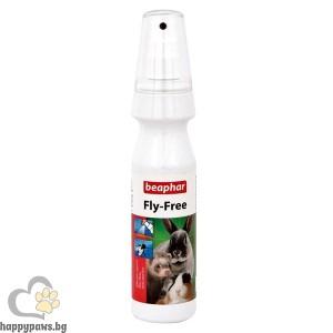 Beаphar - Fly free спрей против комари, мухи, бълхи, въшки и др. - 150 мл.
