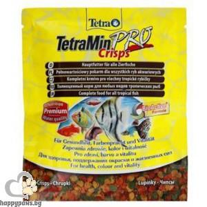 Tetra - Храна за декоративни рибки, чипс, 12 гр.