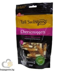 CHEESENUGGETS WITH CHICKEN, хапки от сирене и пилешко месо, 100 гр.