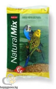 Padovan - Natural Mix Специално селектирана смес за вълнисти папагали, 1 кг.