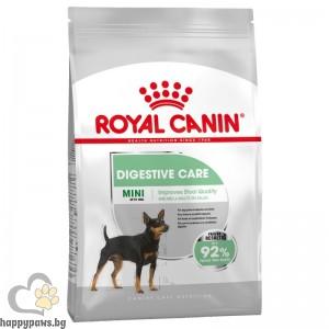 Royal Canin - Mini Digestive Care суха храна за кучета от дребните породи, с храносмилателна чувствителност, над 10 месечна възраст, 800 гр.