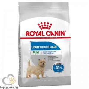 Royal Canin - Mini Light Weight Care суха храна за кучета от дребни породи, склонни към напълняване, над 10 месечна възраст