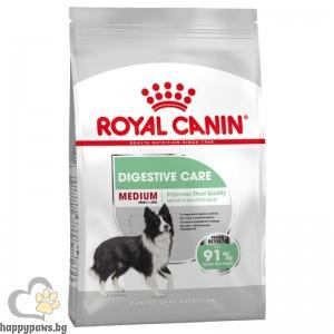 Royal Canin - Medium Digestive Care суха храна за кучета от средни породи, над 12 месечна възраст, 3 кг.