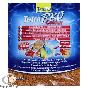 Tetra - Sachet Tetra Pro Colour - храна за наситен цвят, 12 гр.